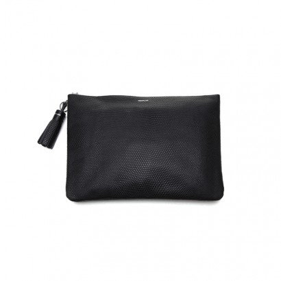 Lizard clutch - black