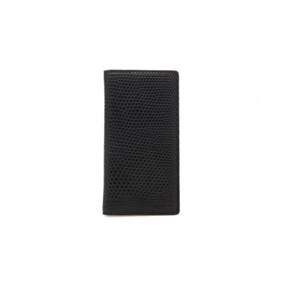 Lizard long wallet -  black