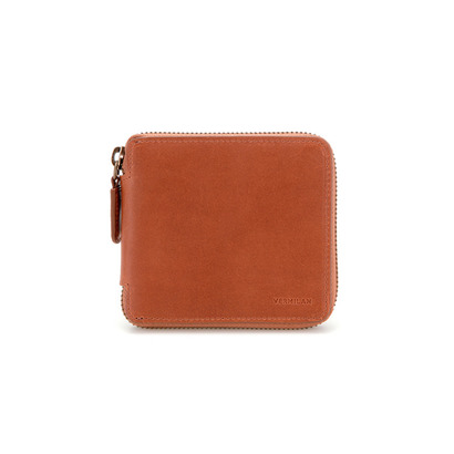 Original Zip half Wallet -  brown