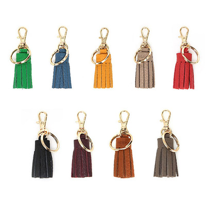 BURMI VERROU LEATHER TASSEL ★ 키링 ,참