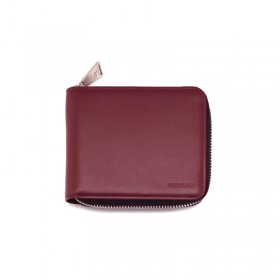 Zip Around Wallet - burgundy