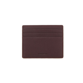 Slim Card Wallet - burgundy