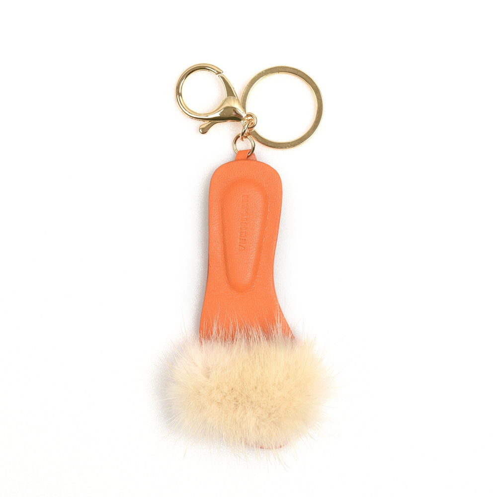 Lather Keyring - orange