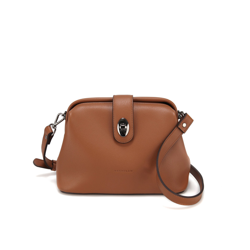 MUIR FRAME BAG - BROWN