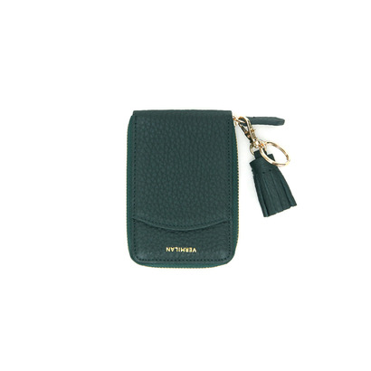 POCKET CARD WALLET - GREEN
