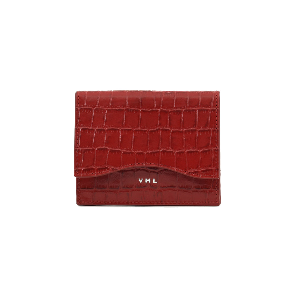 CURVE CARD WALLET - RED